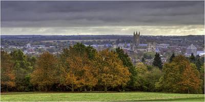 Canterbury Wall Art - Photograph - Canterbury Cathedral  by Nigel Jones