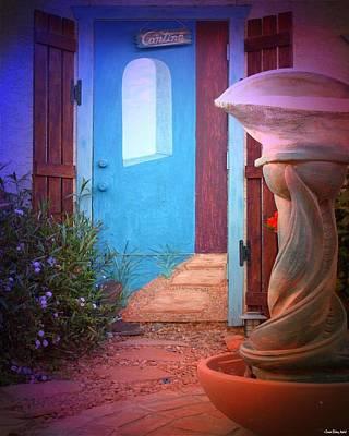 Cantina Entrance Art Print by Daniel Madrid