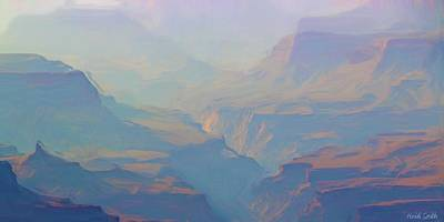 Canyon Close Up Art Print