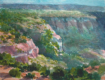 Painting - Canyon Colors by Tina Bohlman