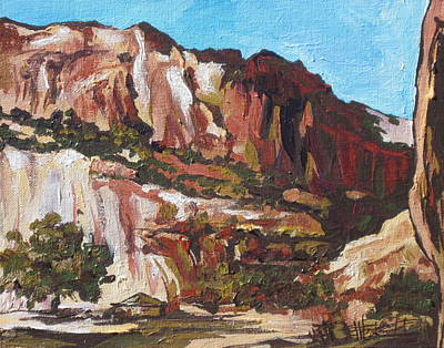 Painting - Canyon De Chelly by Sandy Tracey