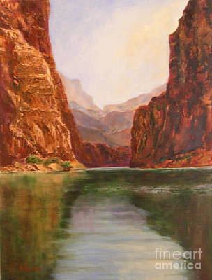 Painting - Canyon Dreams by Alice Gunter