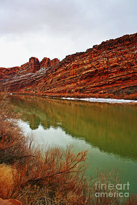 Photograph - Canyon Reflection by Julie Lueders
