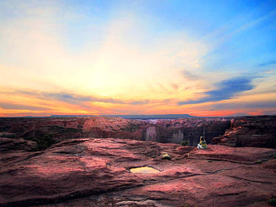Photograph - Canyon Sunset by Ric Soulen