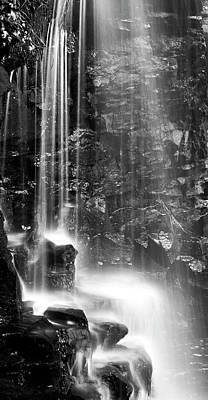 Photograph - Canyon Waterfall Shower by John Stephens