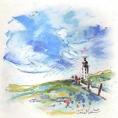 Lighthouse Drawing - Cap Gris-nez 05 by Miki De Goodaboom