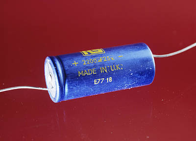 Electrolytic Photograph - Capacitor by Andrew Lambert Photography