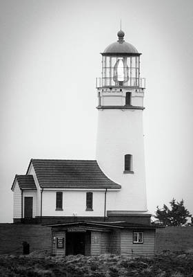 Photograph - Cape Blanco Beacon by Kevin Munro