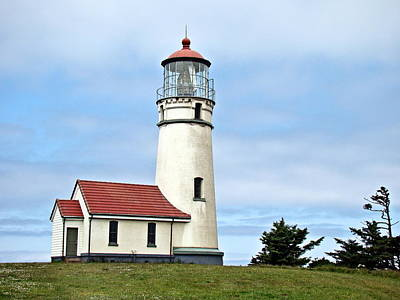 Art Print featuring the photograph Cape Blanco Lighthouse by Nick Kloepping