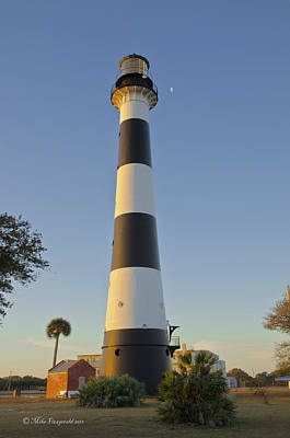 Photograph - Cape Canaveral Lighthouse by Mike Fitzgerald
