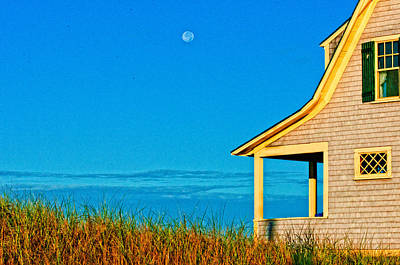 Cape Cod Bay House Print by Linda Pulvermacher