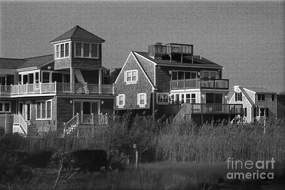 Photograph - Cape Cod Beach Houses by Gina Cormier