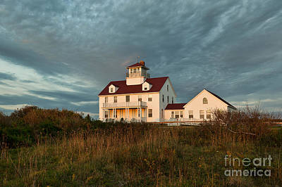 Cape Cod Coast Guard Station Art Print