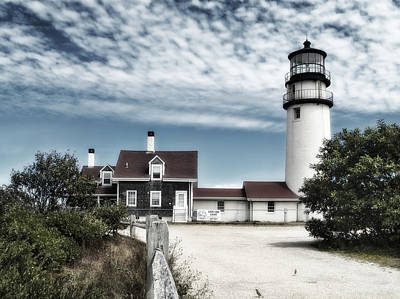Photograph - Cape Cod Light In Muted Colors by Tammy Wetzel