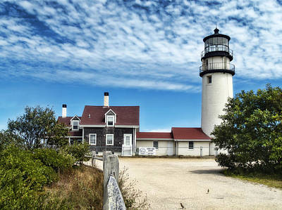 Photograph - Cape Cod Light by Tammy Wetzel