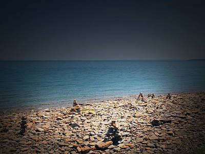 Cape Look Out Photograph - Cape Crocker Lighthouse 4 by Cyryn Fyrcyd