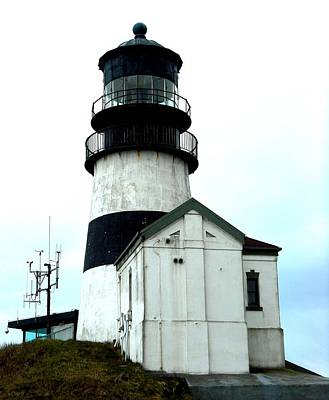 Photograph - Cape Disappointment Lighthouse by Kelly Manning