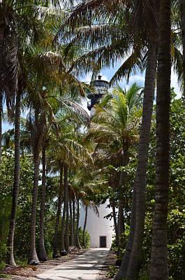 Cape Florida Lighthouse Art Print by Brenda Thimlar