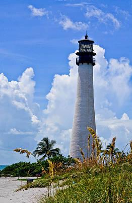 Cape Florida Lighthouse Art Print by Julio n Brenda JnB