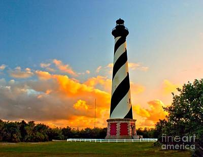 Photograph - Cape Hatteras At Dusk by Nick Zelinsky