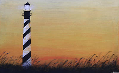 Painting - Cape Hatteras Light by Gray  Artus