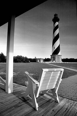 Hatteras Island Photograph - Cape Hatteras Lighthouse II by Steven Ainsworth