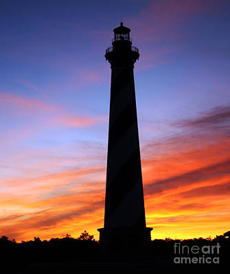 Cape Hatteras Sunset Art Print