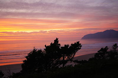 Photograph - Cape Lookout Evening by Angi Parks