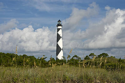 Photograph - Cape Lookout Light by Rick Hartigan