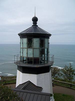 Photograph - Cape Meares Lighthouse by Peter Mooyman