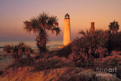 Cape Saint George Lighthouse 3 - Fs000776 Print by Daniel Dempster