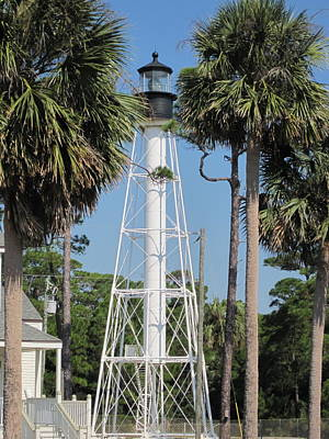 Tropical Wall Art - Photograph - Cape San Blas Lighthouse by Megan Cohen