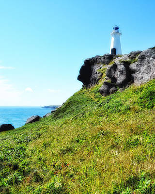 Photograph - Cape Spear National Historic Site Newfoundland by Steve Hurt