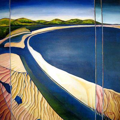 Cape Tribulation Beach Painting - Cape Tribulation 4 by Jill Erickson