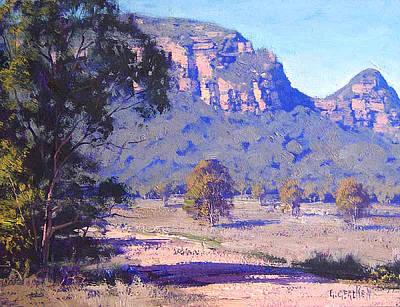 Australia Landscape Painting - Capertee Valley Australia by Graham Gercken