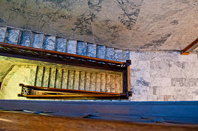 Photograph - Capital Stairs by Tikvah's Hope