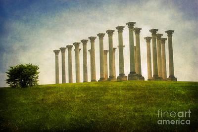 Column Photograph - Capitol Columns by Susan Isakson