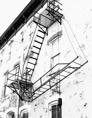 Capitol Hill Fire Escape Art Print by Steven Ainsworth