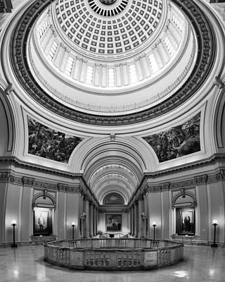 Capitol Interior Art Print by Ricky Barnard