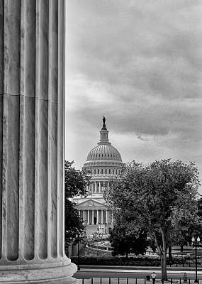 Capitol View Art Print by Boyd Alexander