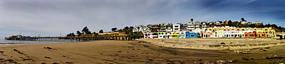 Photograph - Capitola Beach And Pier by Joe  Palermo