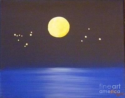 Destiny Painting - Capricorn And Libra by Alys Caviness-Gober