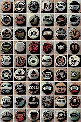 Photograph - Caps by George Pedro