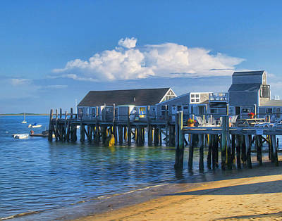 Photograph - Captain Jack's Wharf by Tammy Wetzel