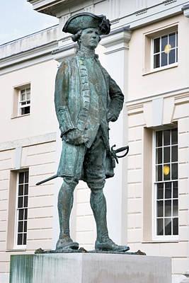 Captain James Cook, British Explorer Art Print by Sheila Terry