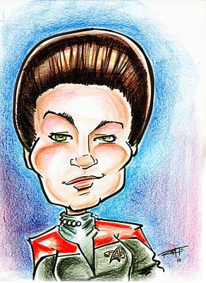 Captain Jayneway Art Print by Big Mike Roate