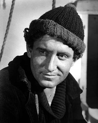 1937 Movies Photograph - Captains Courageous, Spencer Tracy, 1937 by Everett