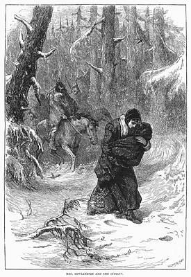 Captive: Mary Rowlandson Art Print