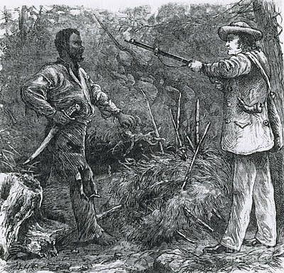 Capture Of Nat Turner, American Rebel Art Print by Photo Researchers