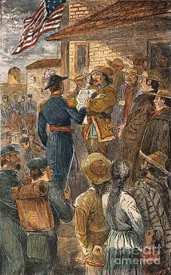 Capture Of Santa Fe, 1846 Art Print by Granger